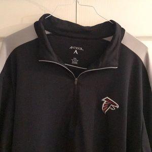Antigua Shirts - Atlanta Falcons Lt wt pullover